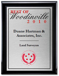 2010 Best of Woodinville Award